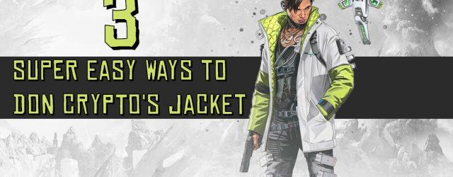 Three Super Easy Ways to Don Crypto's Jacket