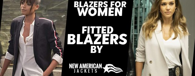 Blazers for Women Fitted Blazers by New American Jackets