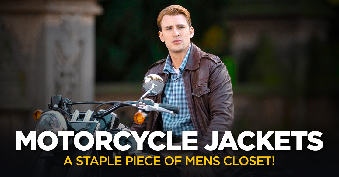 Motorcycle Jackets - A Staple Piece of Mens Closet!