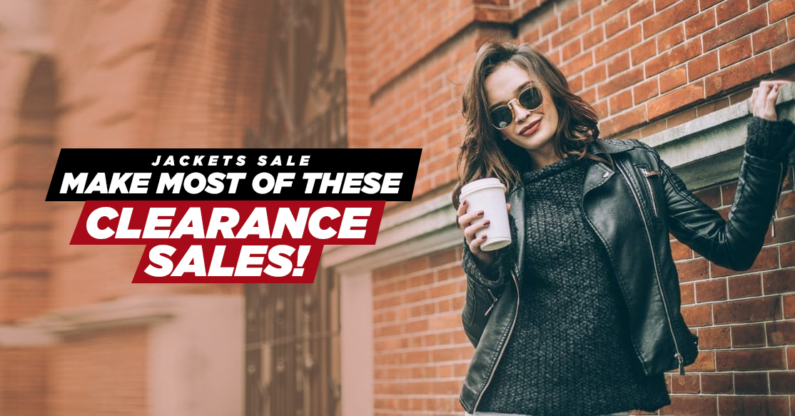 Jackets Sale: Make Most Of These Clearance Sales!