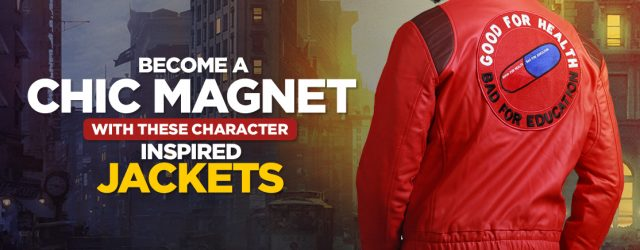 Become a chic magnet with these Character inspired Jackets