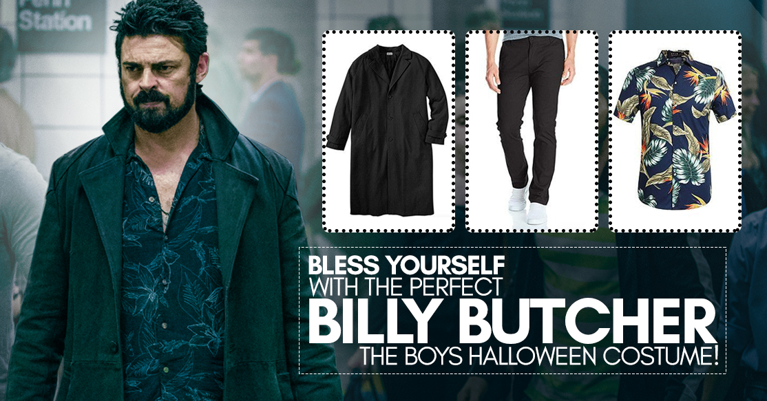 Costume Guide - Bless yourself with the perfect Billy Butcher The Boys Halloween Costume