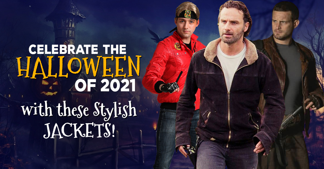 Celebrate the Halloween of 2021 with these stylish jackets!