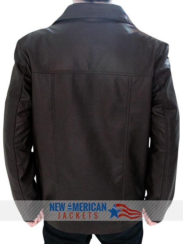 24 Jack Bauer brown Leather Jacket