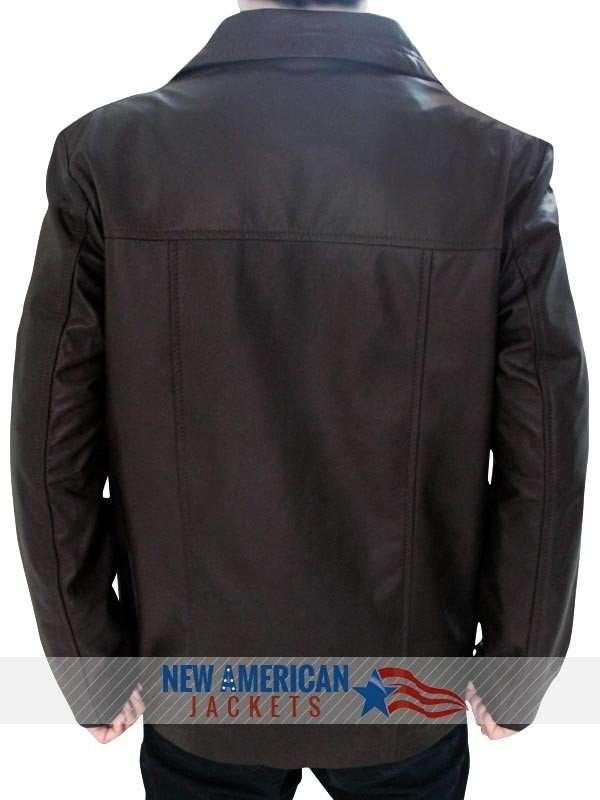 24 Jack Bauer brown Leather Jacket