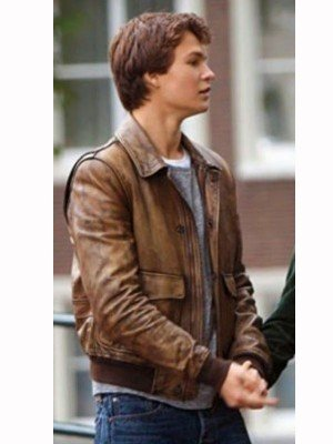 The Fault In Our Stars Vintage Brown Jacket