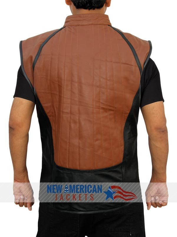 Black John Crichton Farscape Leather Vest