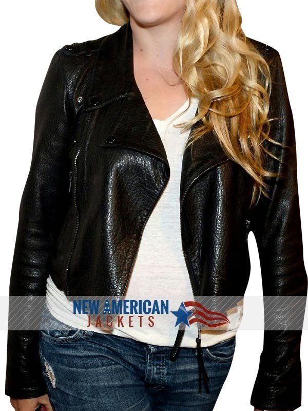 Busy Philipps Mistaken For Strangers Leather Jacket