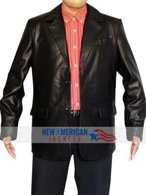 Chili Palmer Get Shorty Leather Jacket