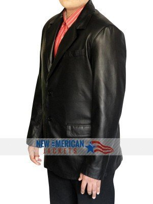 John Travolta Chili Palmer leather Jacket