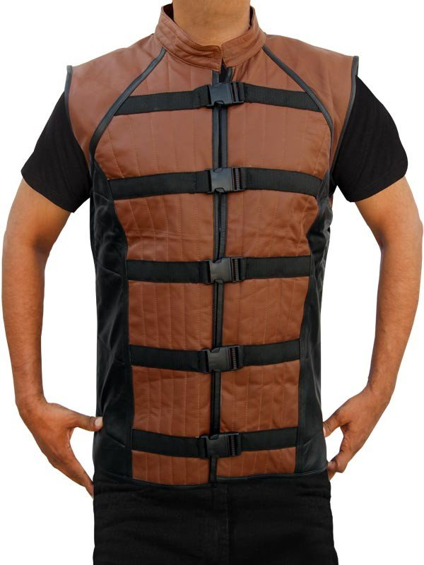 John Crichton Leather Vest