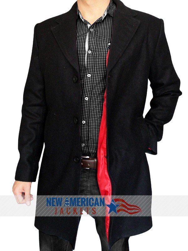 Red linning Peter Capaldia Doctor Who Coat