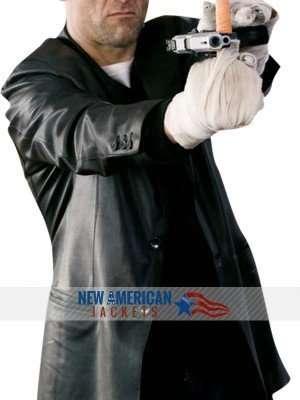 Shoot Em Up Clive Owen black leather Jacket