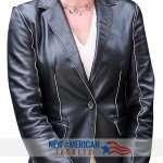 State of Affairs Drama Series Katherine Heigl leather Coat