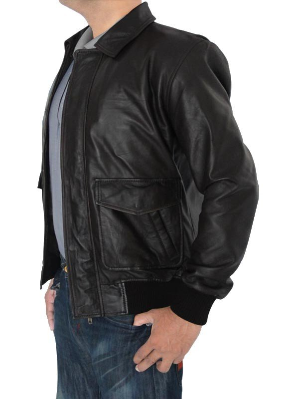 The Fault in Our Stars Ansel Elgort Jacket real Leather