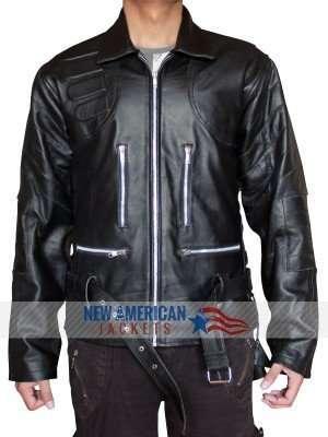 Arnold Schwarzenegger Motorcycle Terminator 3 Jacket