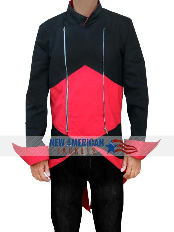 Assassins Creed Black & Red Fabric Jacket