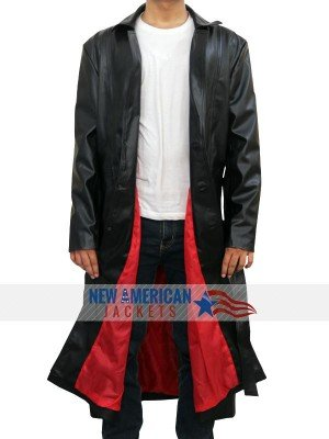 Wesley Snipes Leather Coat