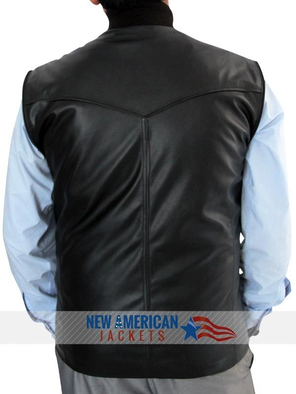 Bucky Leather Vest