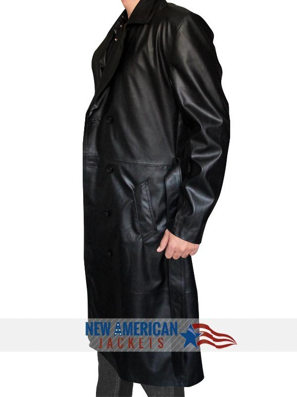 Buffy The Vampire Slayer Spike Trench Leather Coat