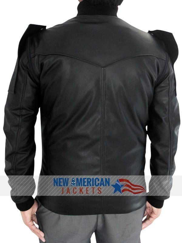 Captain America Bucky Barnes Vest Jacket