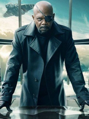 Nick Fury Captain America The Winter Soldier Coat