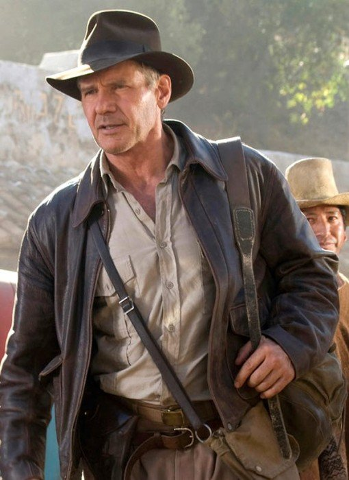 Cheap Indiana Jones 4 Distressed Jacket