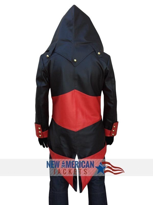 Connor Kenway Assassins Creed 3 Black hoodie Jacket