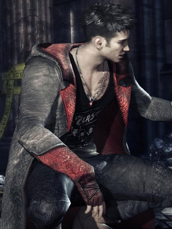 Devil May Cry Coat Jacket Dante Long Coat