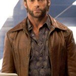 Days of future past hugh jackman wolverine leather jacket