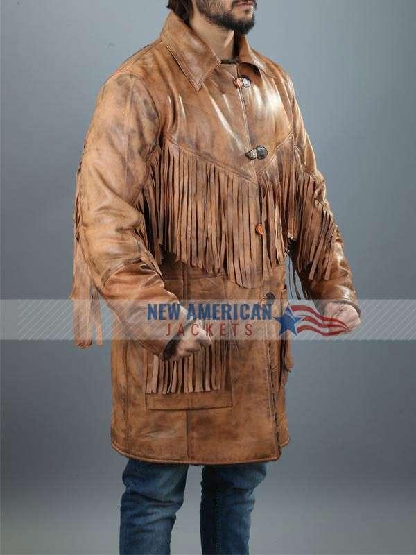 Deadfall A Eric Bana Addison Leather Jacket