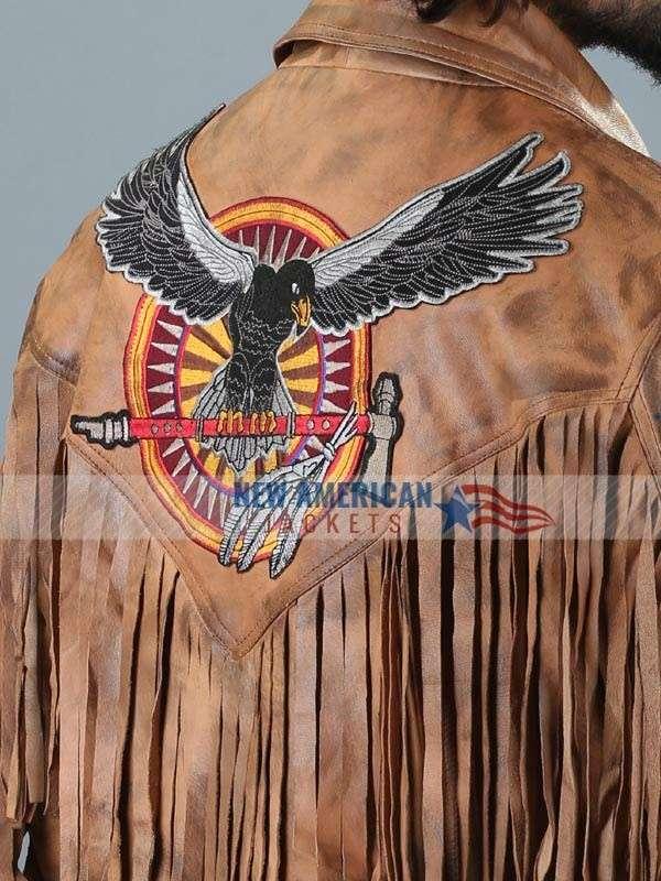 Deadfall Brown Fringe Jacket
