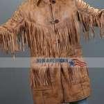 Deadfall Fringe Leather Jacket