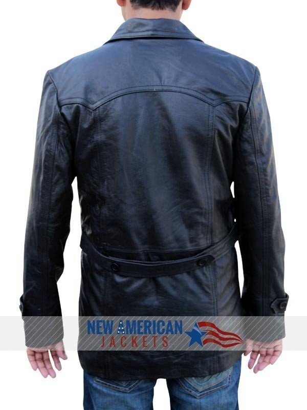 Dr Who Christopher Eccleston Leather Coat