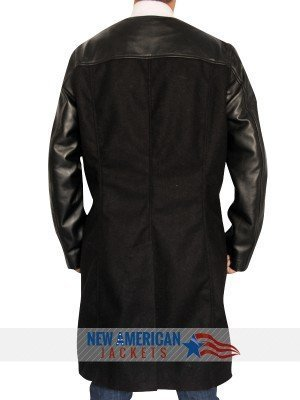 Farscape John Crichton wool leather Coat