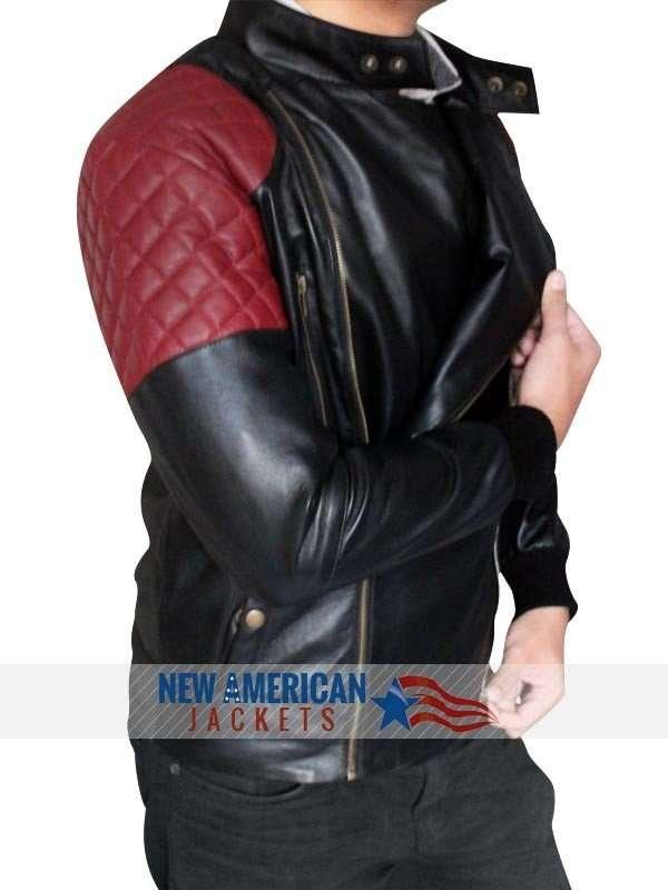 Fire Kid Cudi leather Jacket