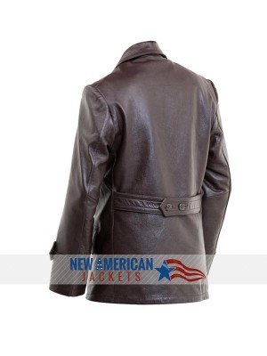 German WWII Leather Coat