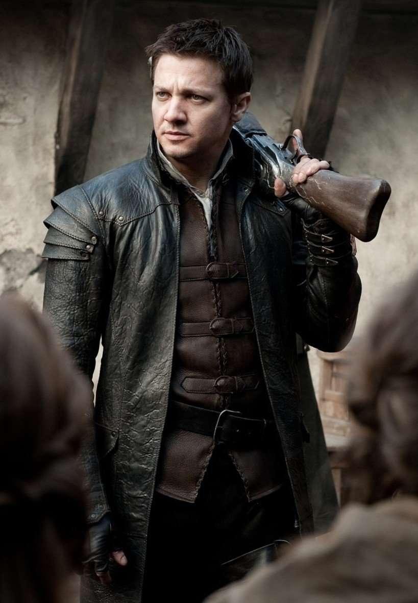 Jeremy Renner Coat Jacket   Hansel And Gretel Leather Coat