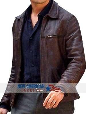 Inception Cobb Leonardo DiCaprio brown Jacket