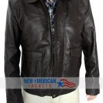 Indiana Jones 4 Harrison Ford Real Leather Jacket