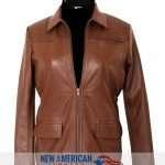 Katniss Everdeen Brown Jacket