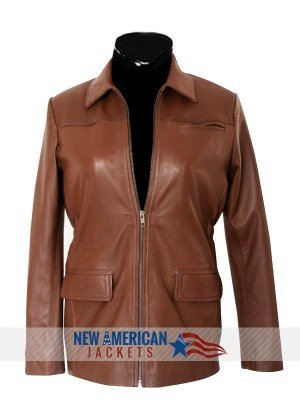 Katniss Everdeen Brown Jacket