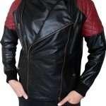 Kid Cudi Fire leather Jacket