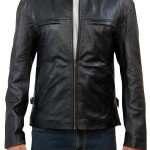 Leather Jacket Aaron Taylor Johnson