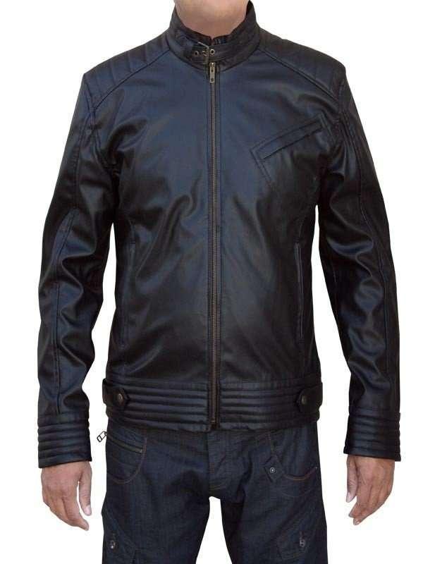 Leather Jacket Jeremy Renner