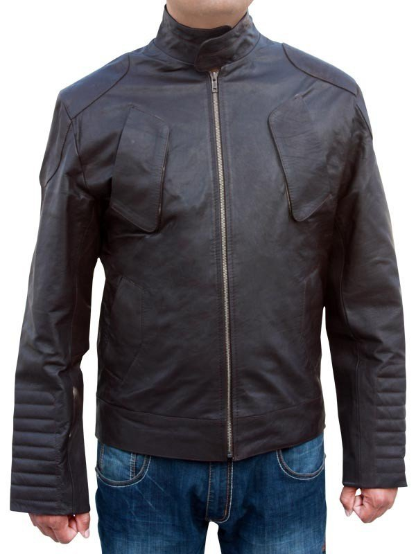 Lockout Distressed Leather Jacket