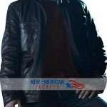 New Grimm David Giuntoli leather Jacket