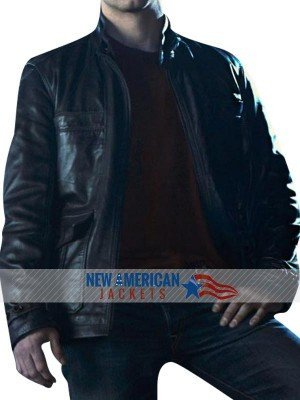New Grimm David Giuntoli leather Jacket