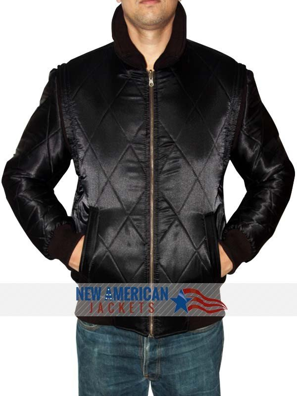 Ryan Gosling Black Drive Jacket