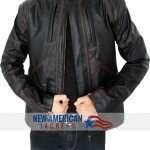 Captain America Sebastin Stan Bucky Barnes Jacket